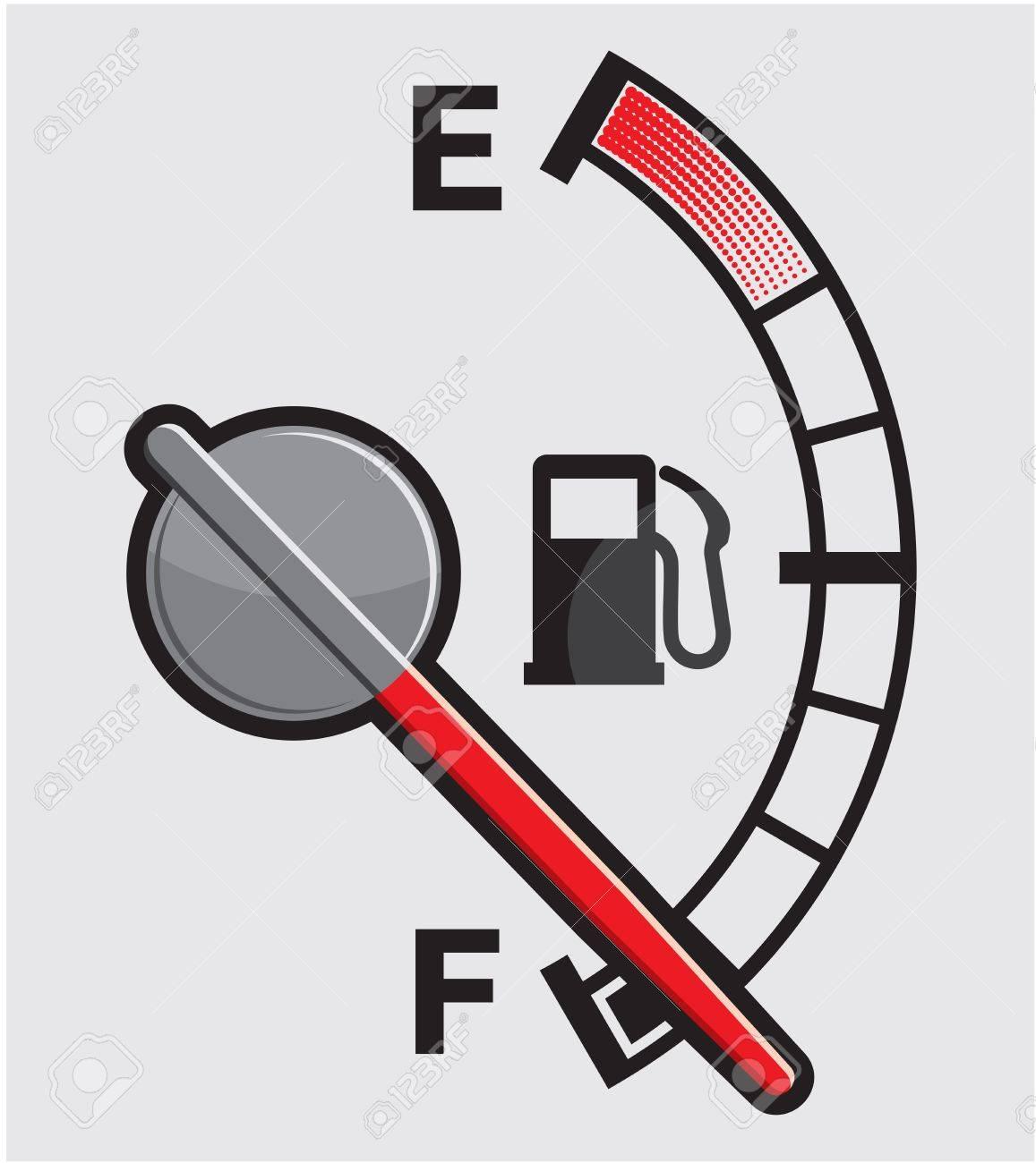 Full gas tank Stock Vector - 15770212