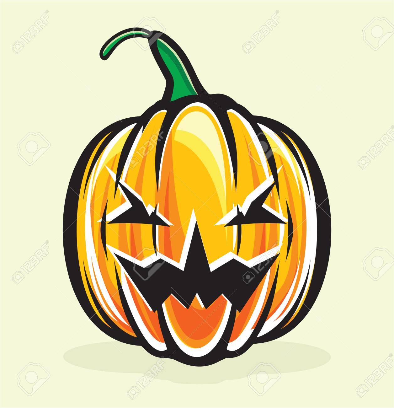 halloween pumpkin jack lantern Stock Vector - 15770218