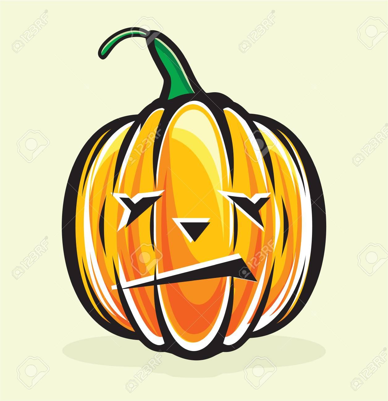 halloween pumpkin jack lantern Stock Vector - 15770219