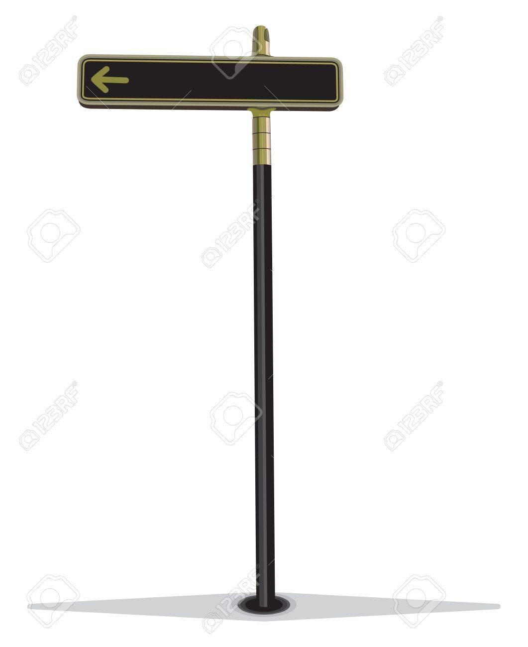 Blank street sign Stock Vector - 15825661