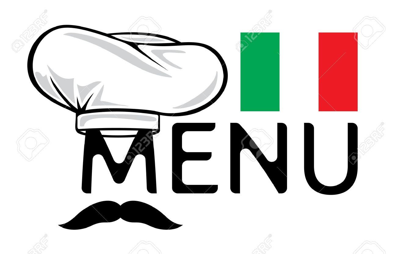 italian menu design royalty free cliparts vectors and stock rh 123rf com  italian food clipart black and white