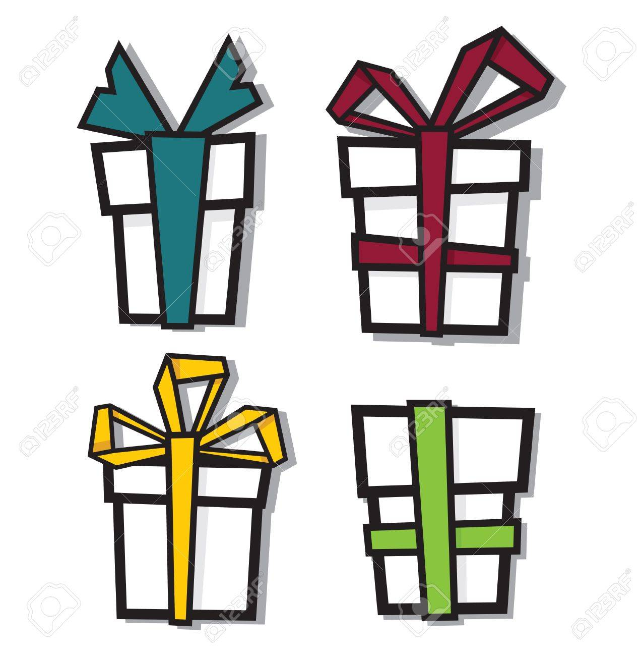 Gift Boxes Stock Vector - 18048240