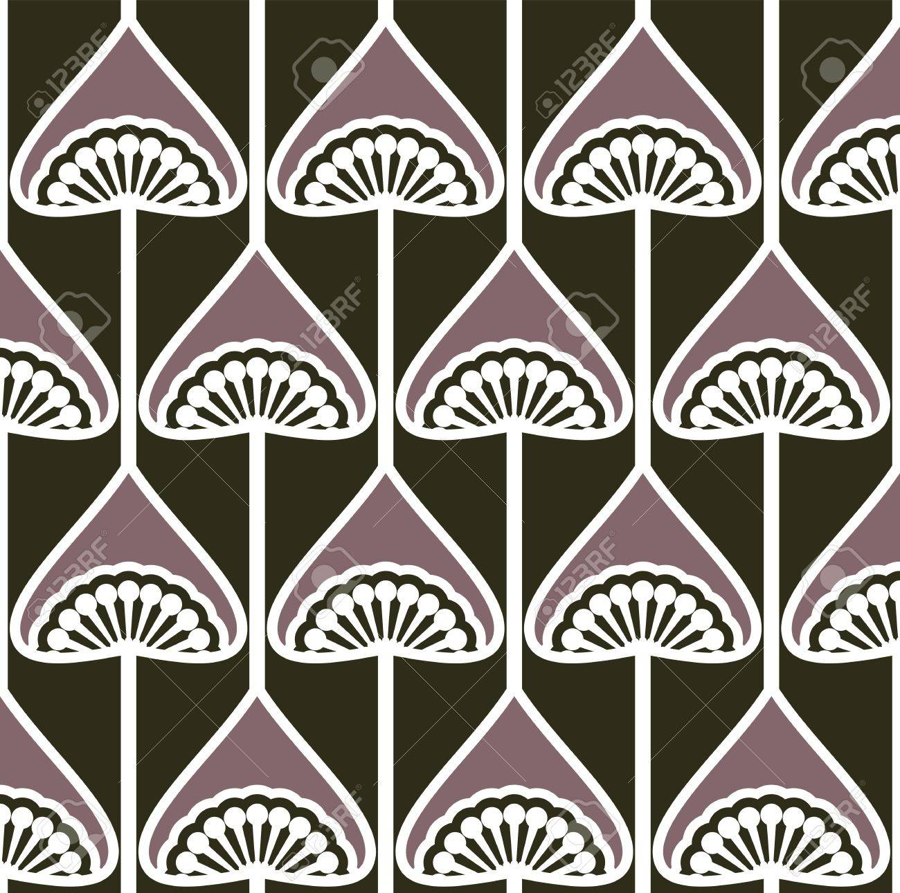 seamless retro pattern Stock Vector - 18094780