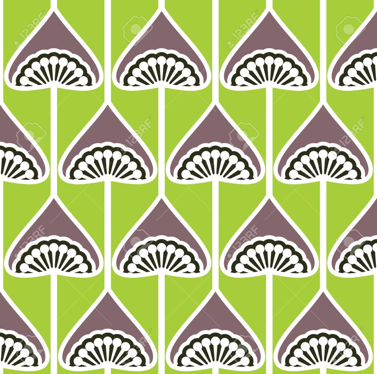 seamless retro pattern Stock Vector - 18067021