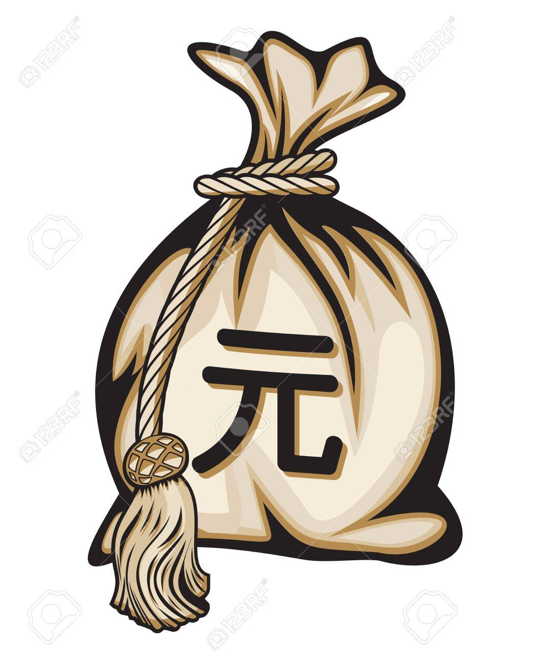 Money bag with yuan chinese currency symbol and coins royalty free money bag with yuan chinese currency symbol and coins stock vector 18245572 biocorpaavc