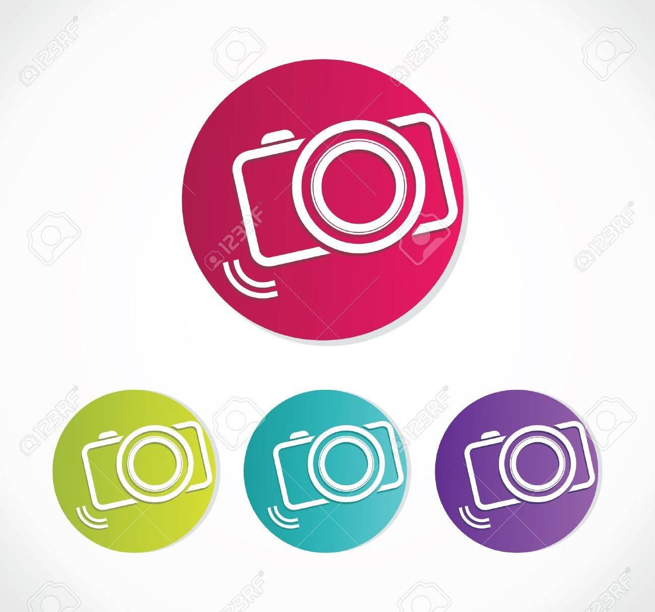 Camera Icon Stock Vector - 18245521