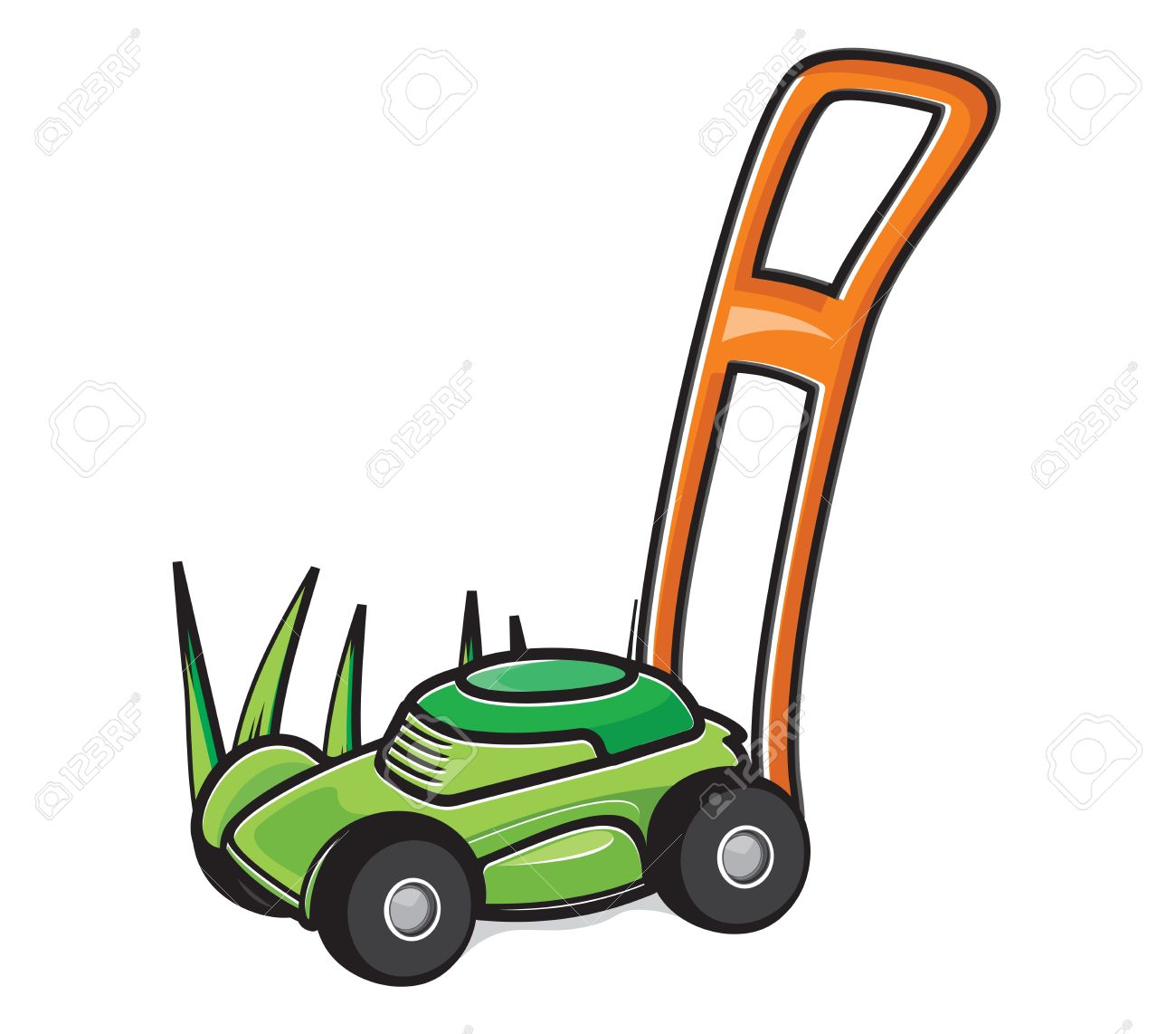 lawn mower royalty free cliparts vectors and stock illustration rh 123rf com lawn mower clipart images lawn mower clipart vector