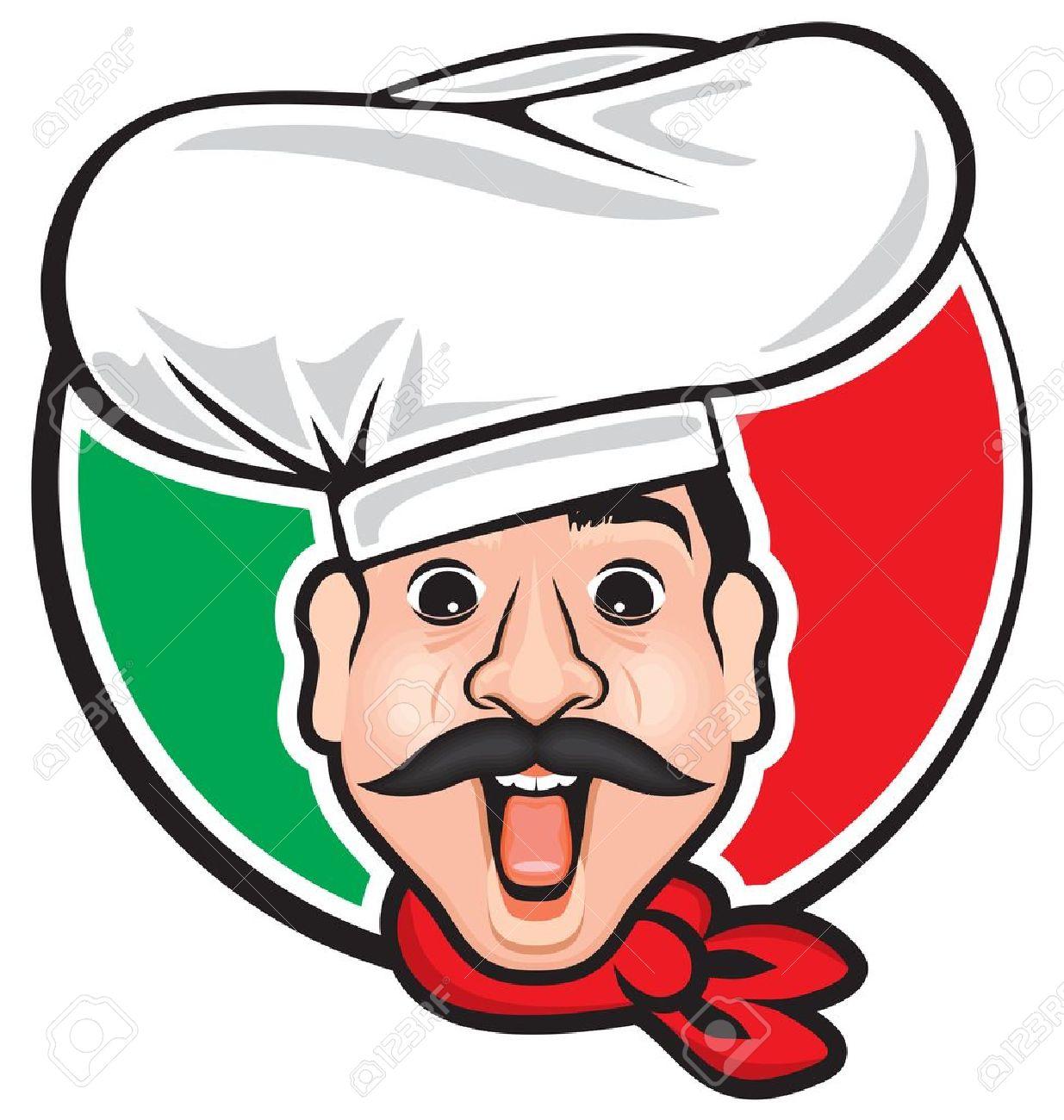 Pizza Chef Vector Pizza Chef Italian Chef