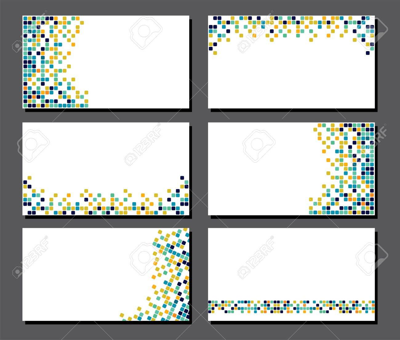 Business card pixels choice image free business cards business card pixels gallery free business cards business card pixels ernestoburgos set of business cards pixel magicingreecefo Image collections