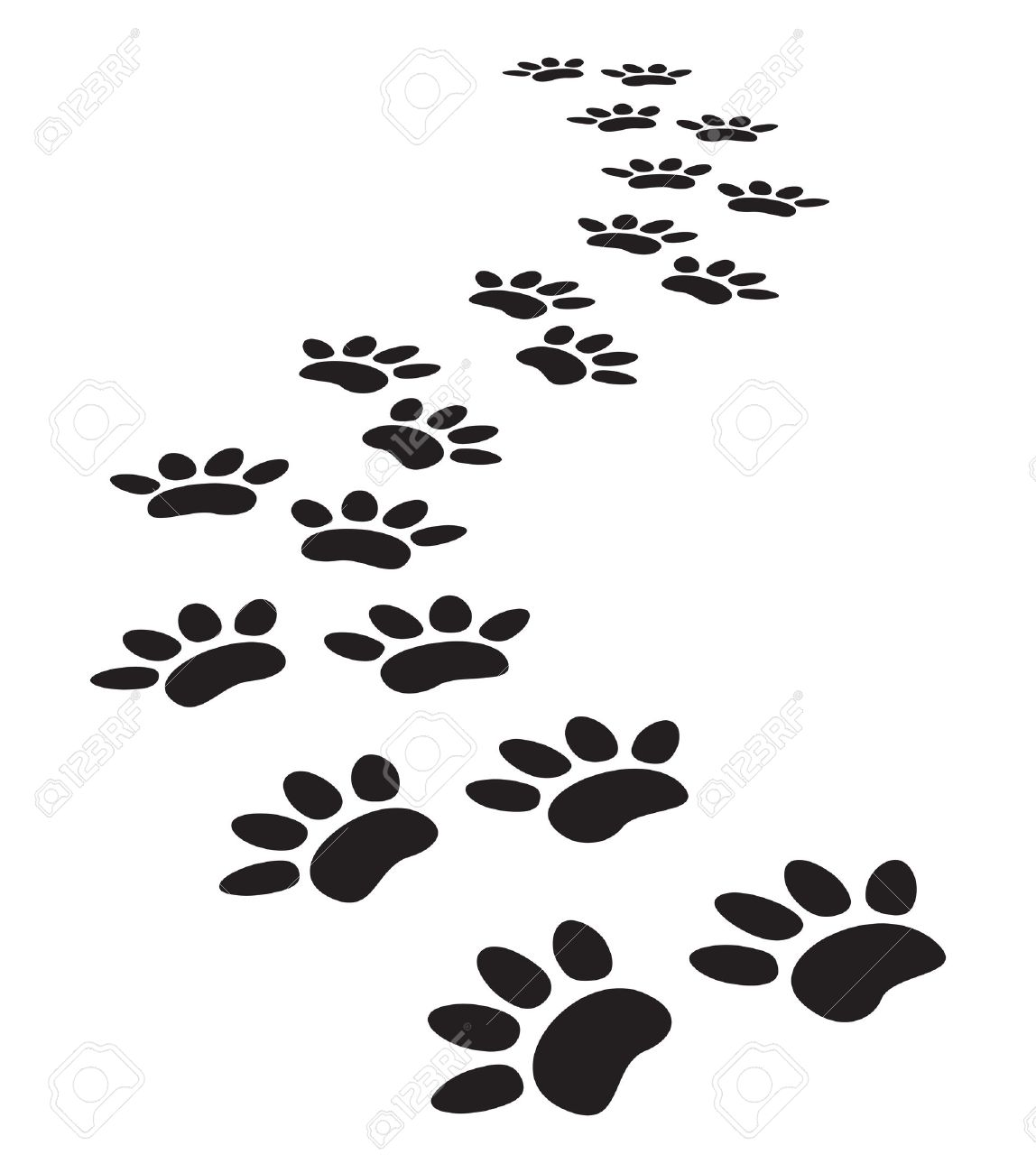 18,120 Cat Paw Stock Illustrations, Cliparts And Royalty Free Cat ...
