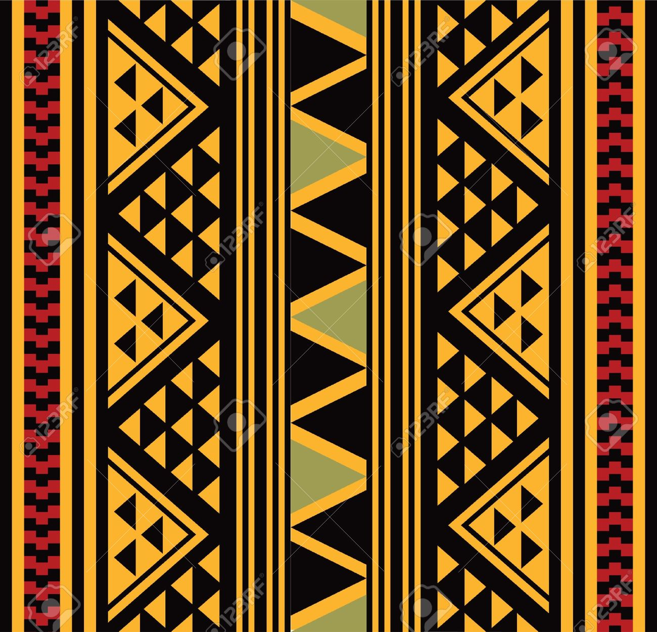 African pattern Stock Vector - 18523228
