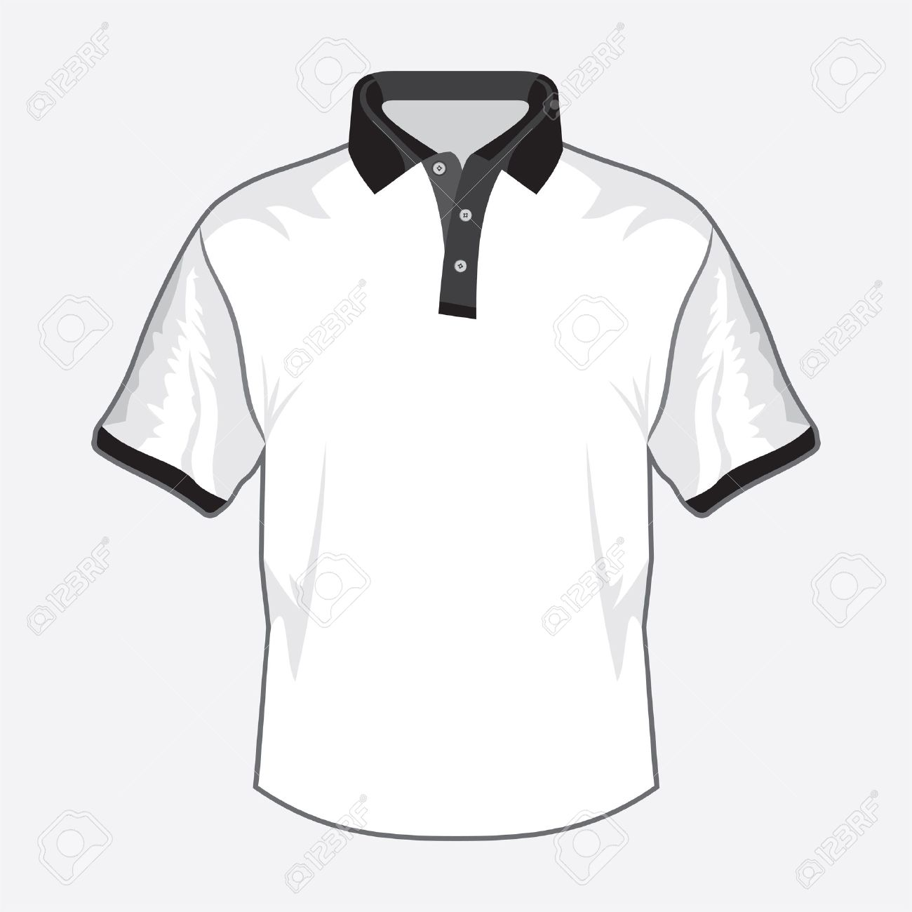 Shirt design black