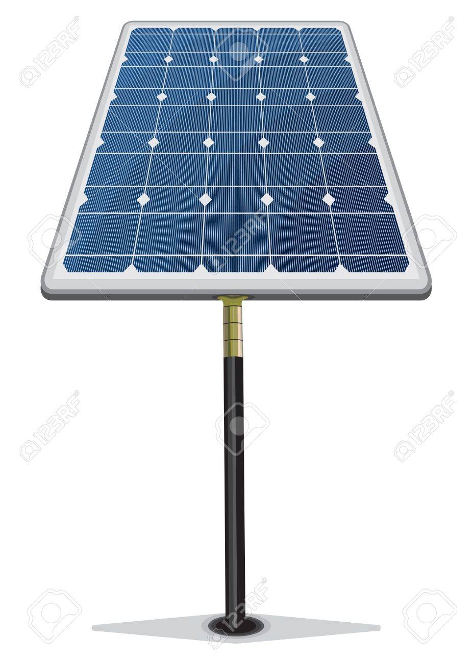 Solar Panel Stock Vector - 18579644