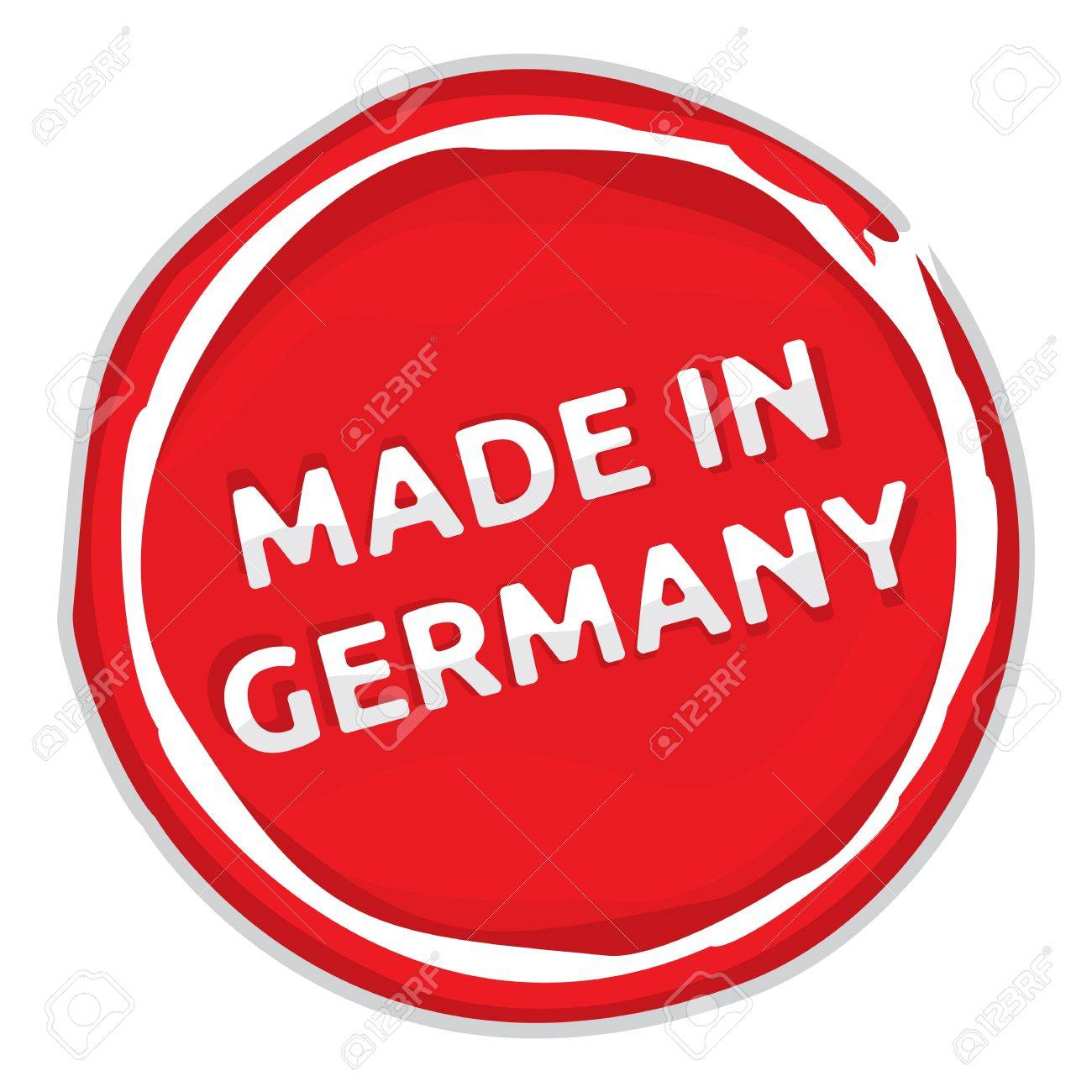 Rubber stamp - Made in Germany Stock Vector - 18661851