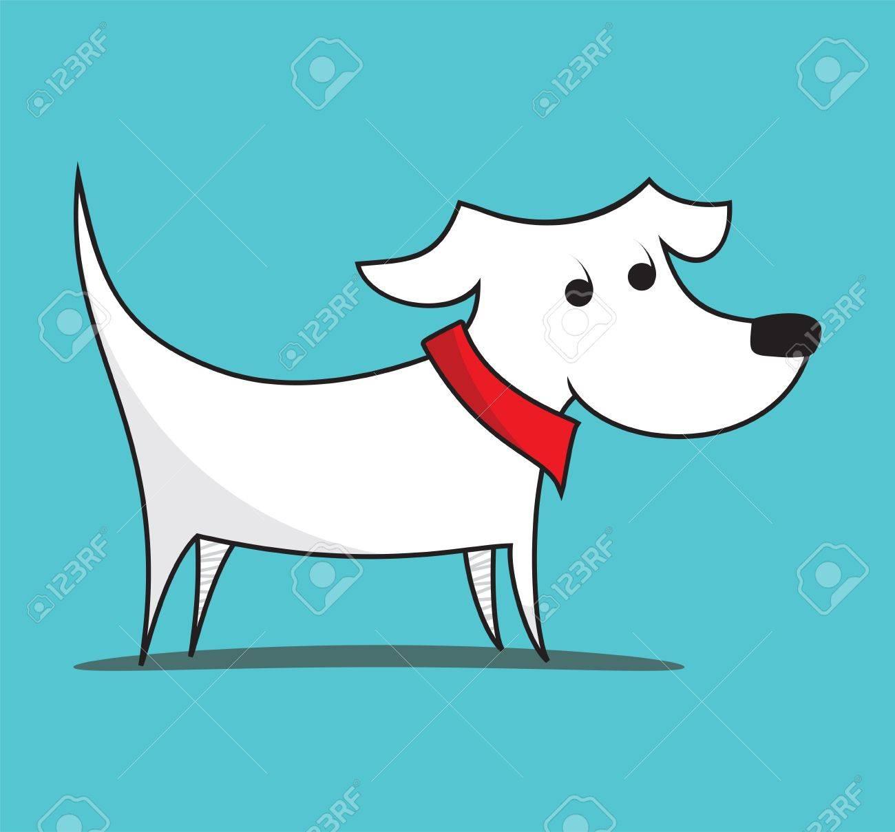Dog illustration Stock Vector - 19263676