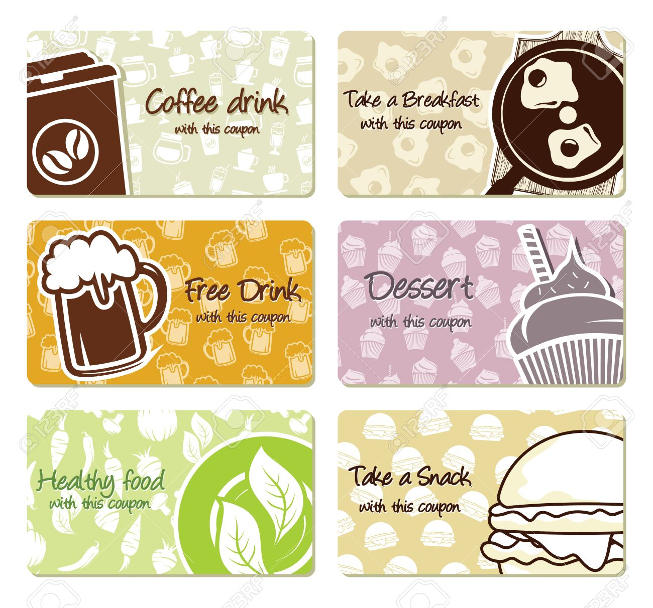 Food Labels And Coupons Royalty Free Cliparts Vectors And Stock Illustration Image 20503905