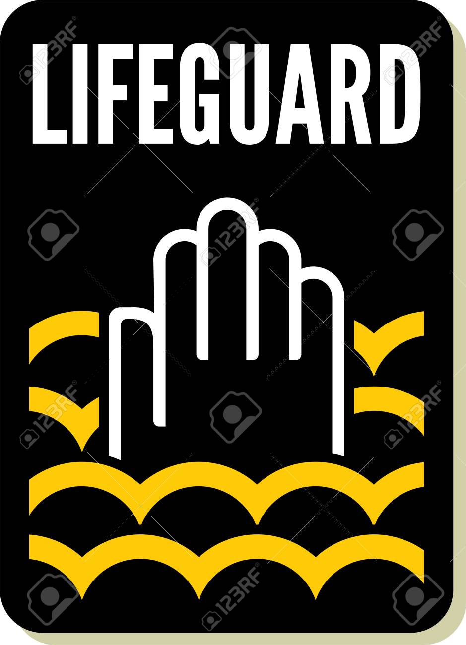 lifeguard sign Stock Vector - 20504224