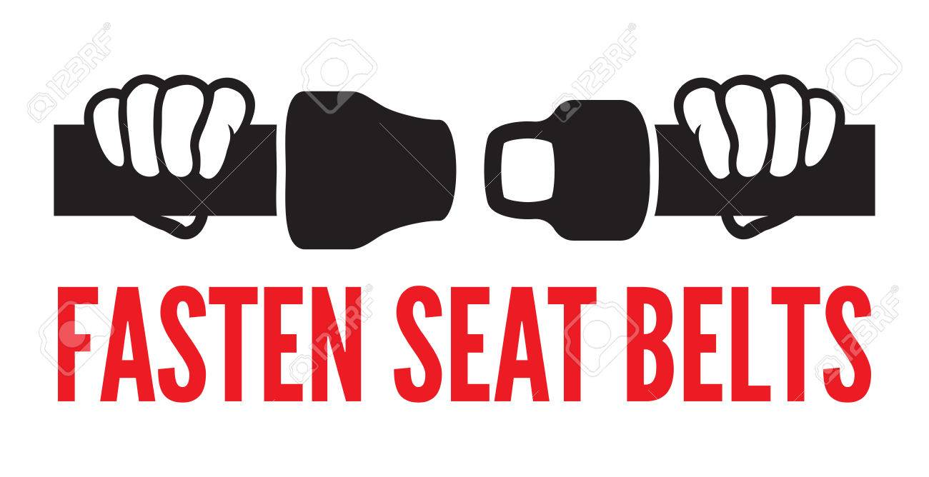 Fasten your seat belts icon - 22362841