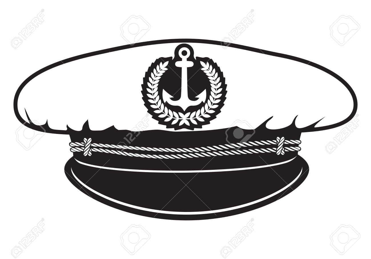 captain cap Stock Vector - 23349120