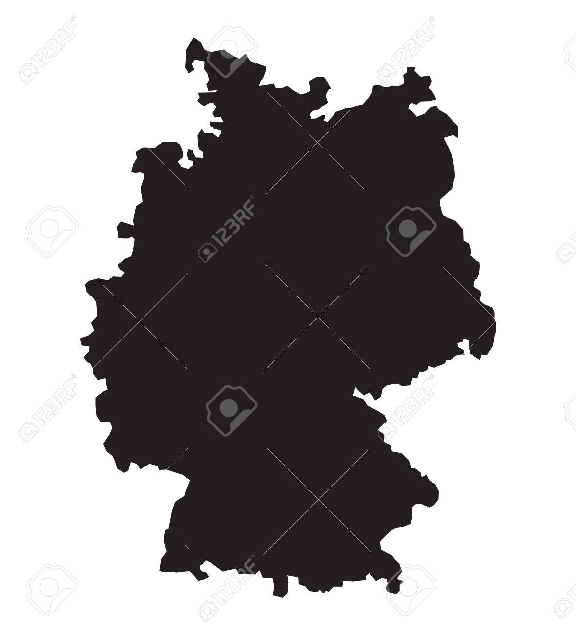 Germany map - 34063295