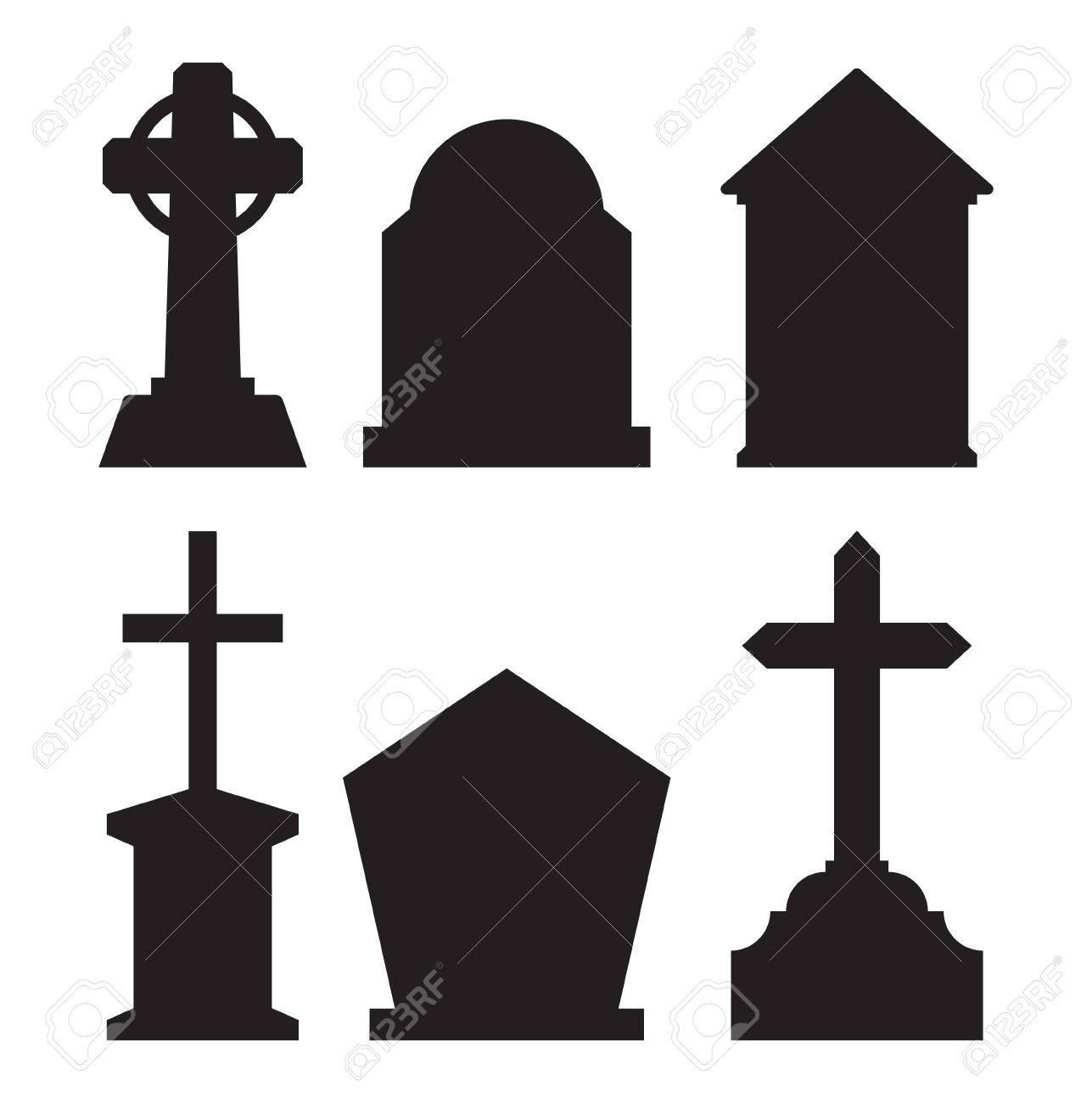gravestone tombstone icons royalty free cliparts vectors and stock rh 123rf com tombstone vector art tombstone logo vector