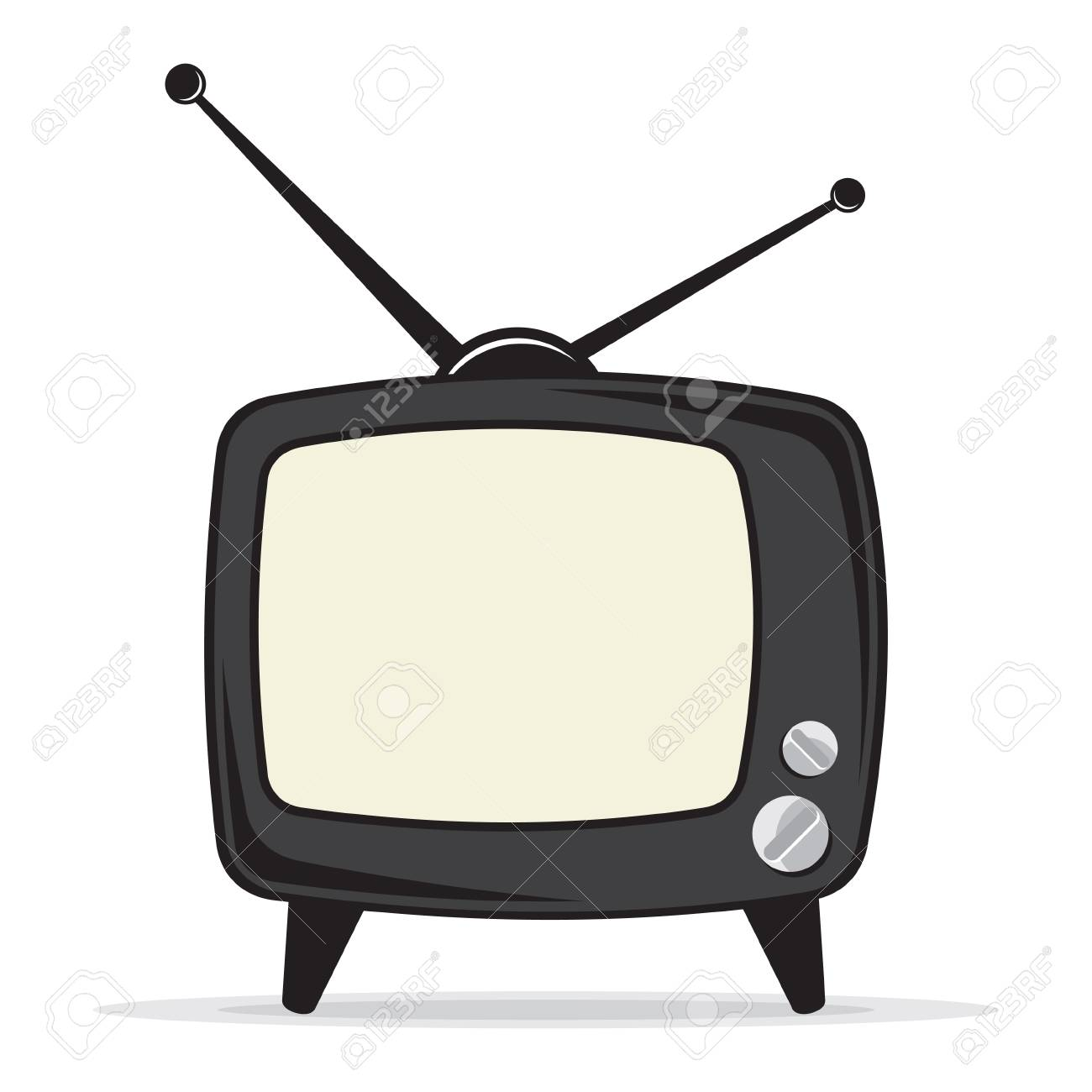 Retro tv icon - 38126265