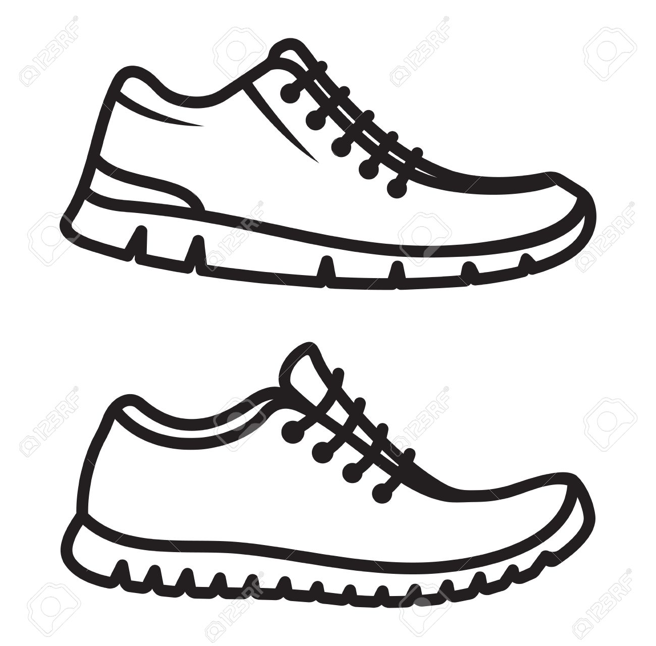 ClipartsVectorsAnd Running Shoes Icons Royalty Stock Free zqMpSUV