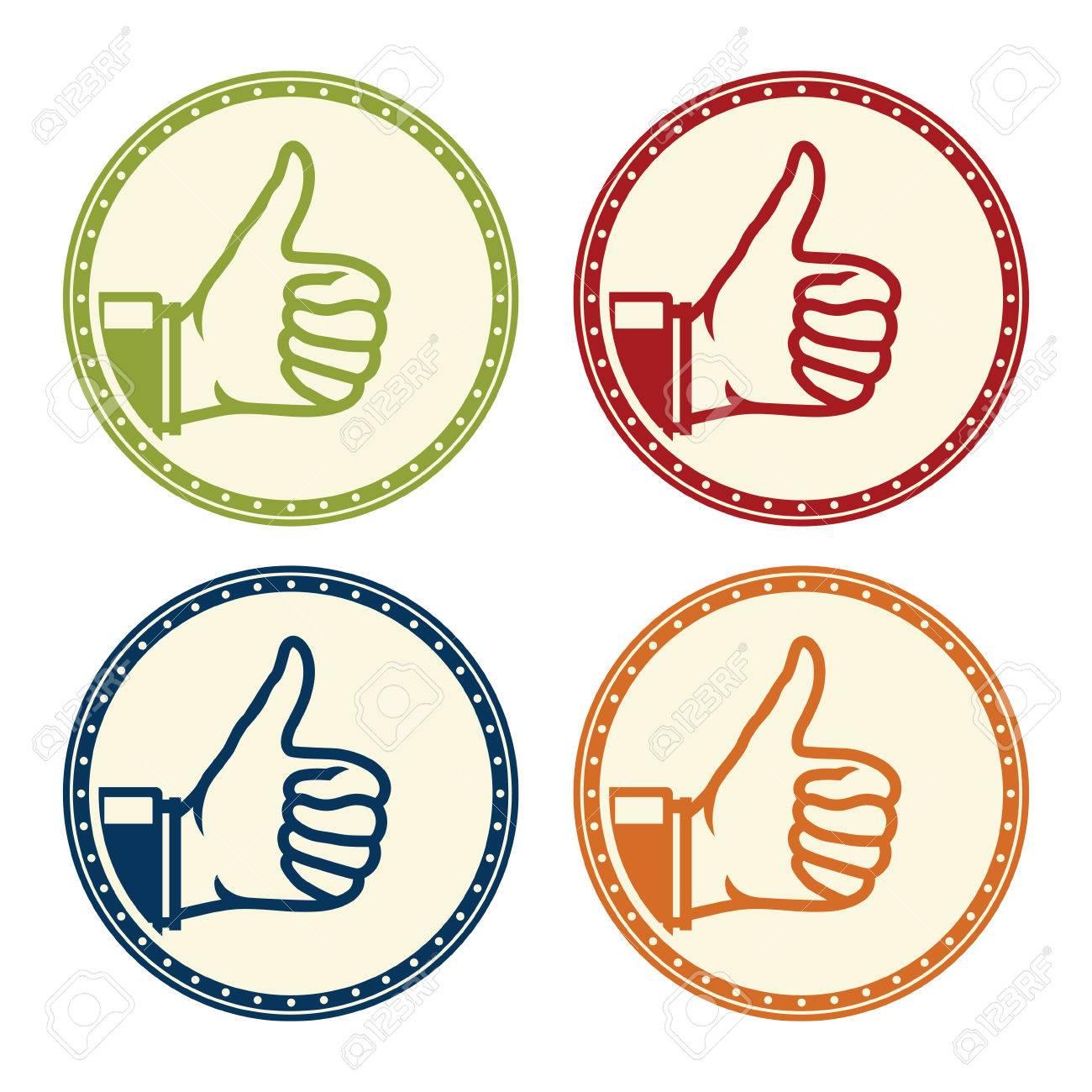 ok thumbs up icon - 38127918