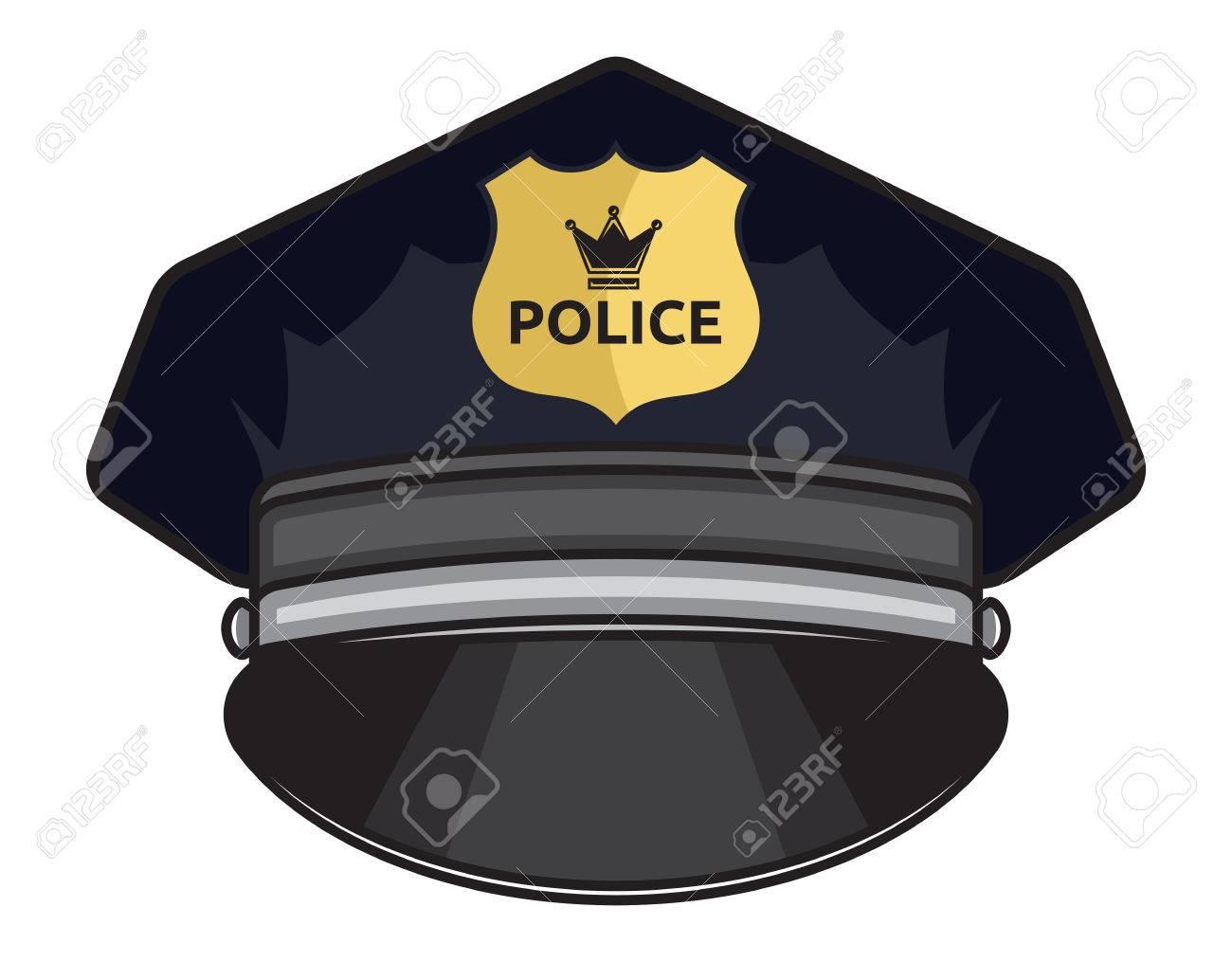 Police cap illustration - 41503043