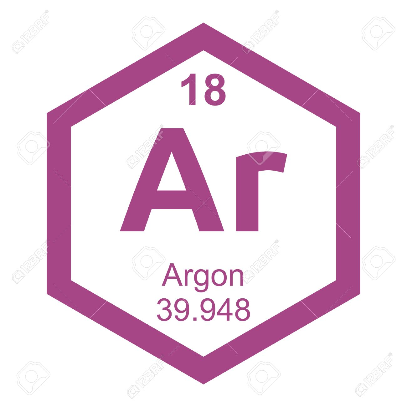Periodic table argon royalty free cliparts vectors and stock periodic table argon stock vector 41503055 gamestrikefo Gallery