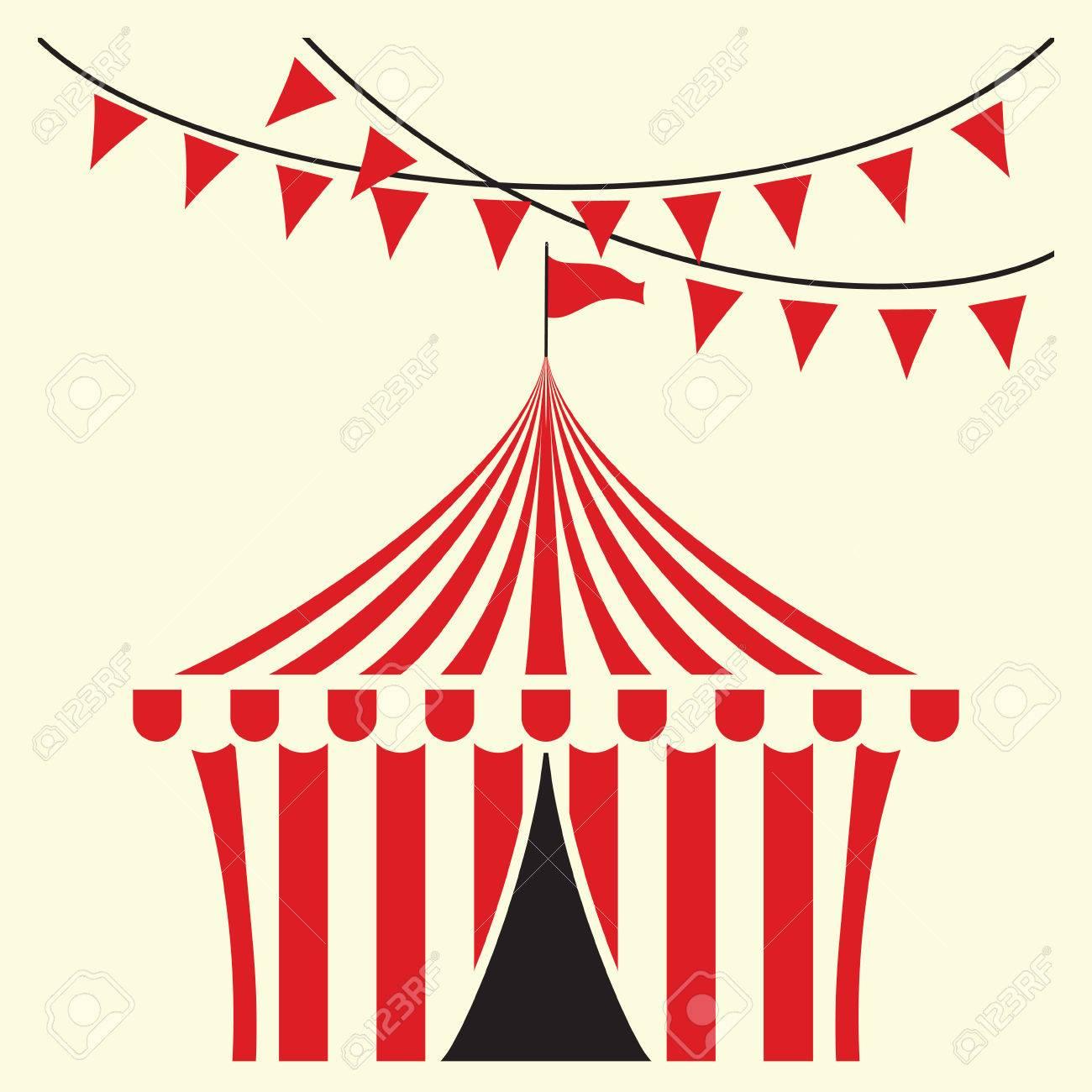 Circus tent illustration - 41503904