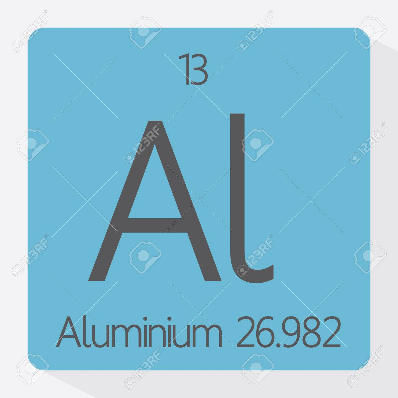 Periodic table aluminium royalty free cliparts vectors and stock periodic table aluminium stock vector 41431469 urtaz Gallery