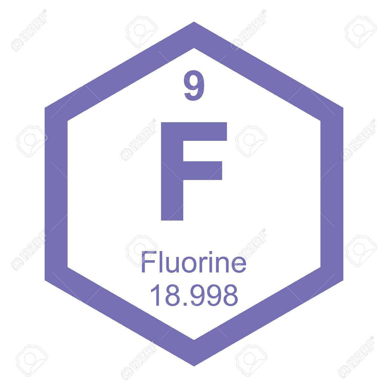 Periodic table fluorine royalty free cliparts vectors and stock periodic table fluorine stock vector 41261538 gamestrikefo Gallery
