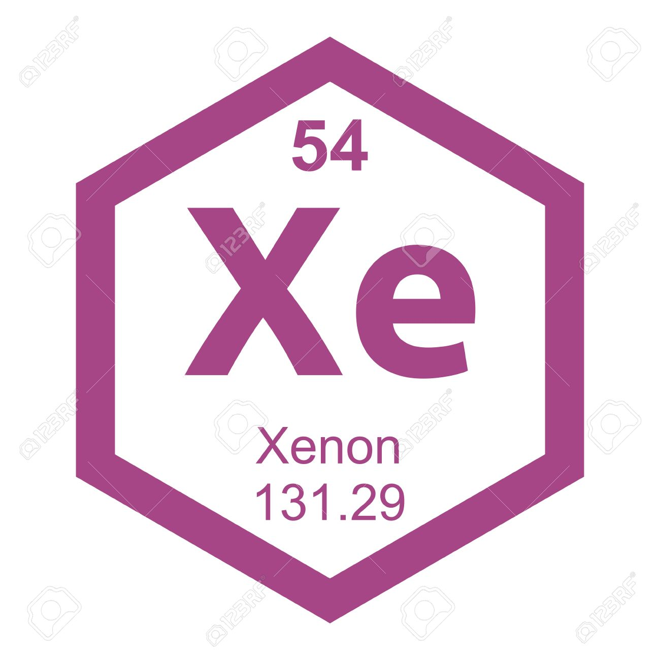 Periodic table xenon royalty free cliparts vectors and stock periodic table xenon stock vector 41243812 urtaz Image collections