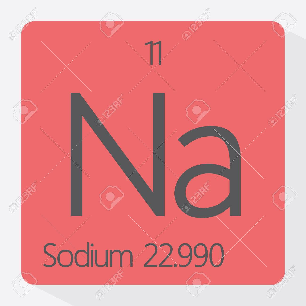 Periodic table sodium royalty free cliparts vectors and stock periodic table sodium stock vector 41235573 gamestrikefo Image collections