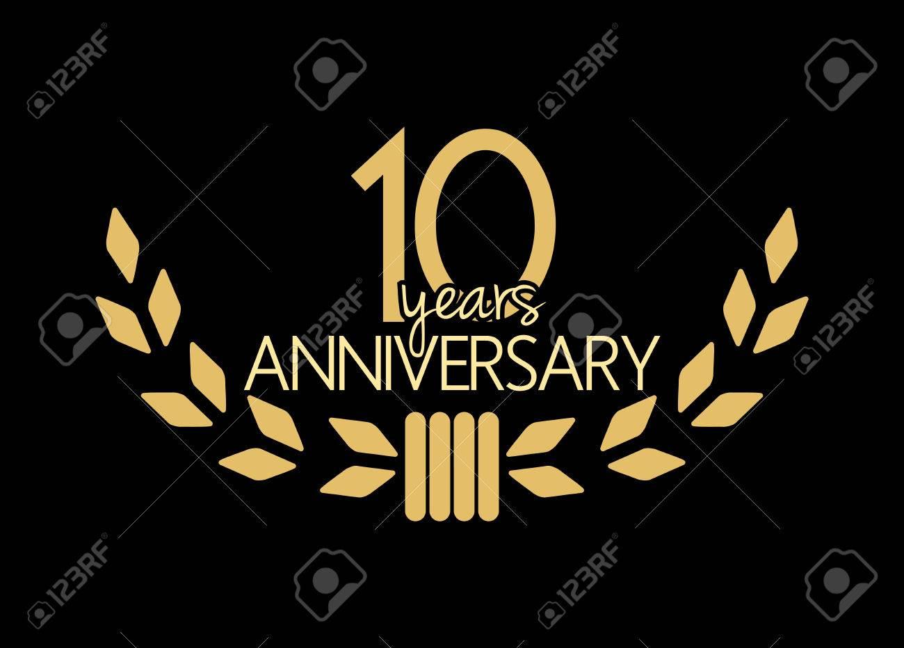 10 years anniversary - 47722044