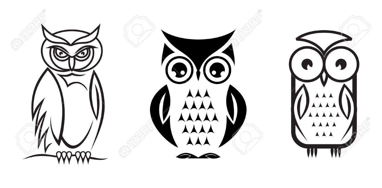 Vector owl collection - 47612155