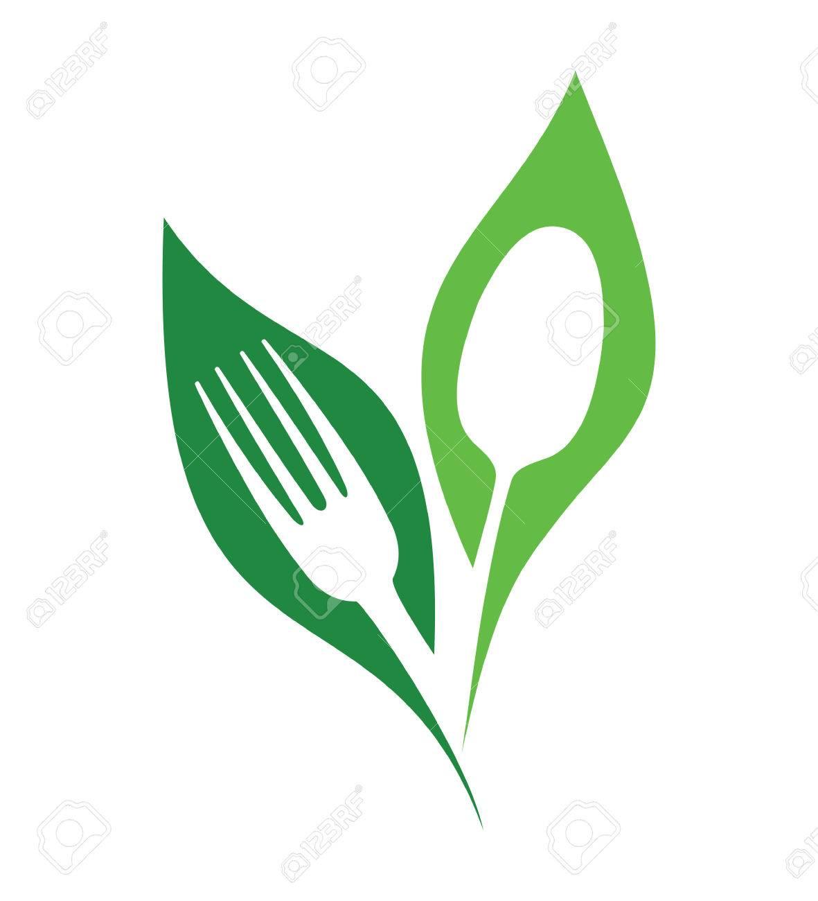 Organic restaurant vector symbols - 58343716