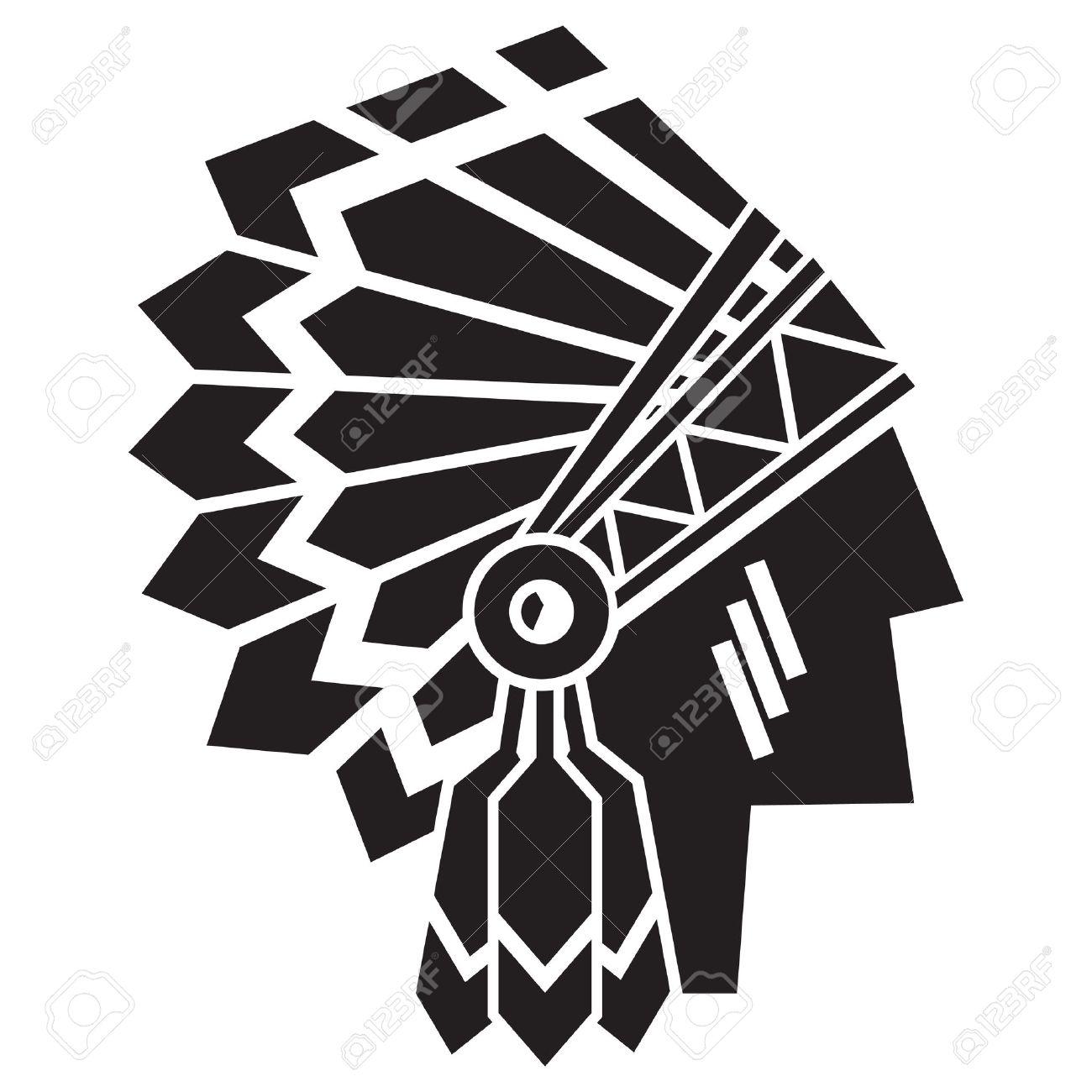 american indian avatar - 58154695