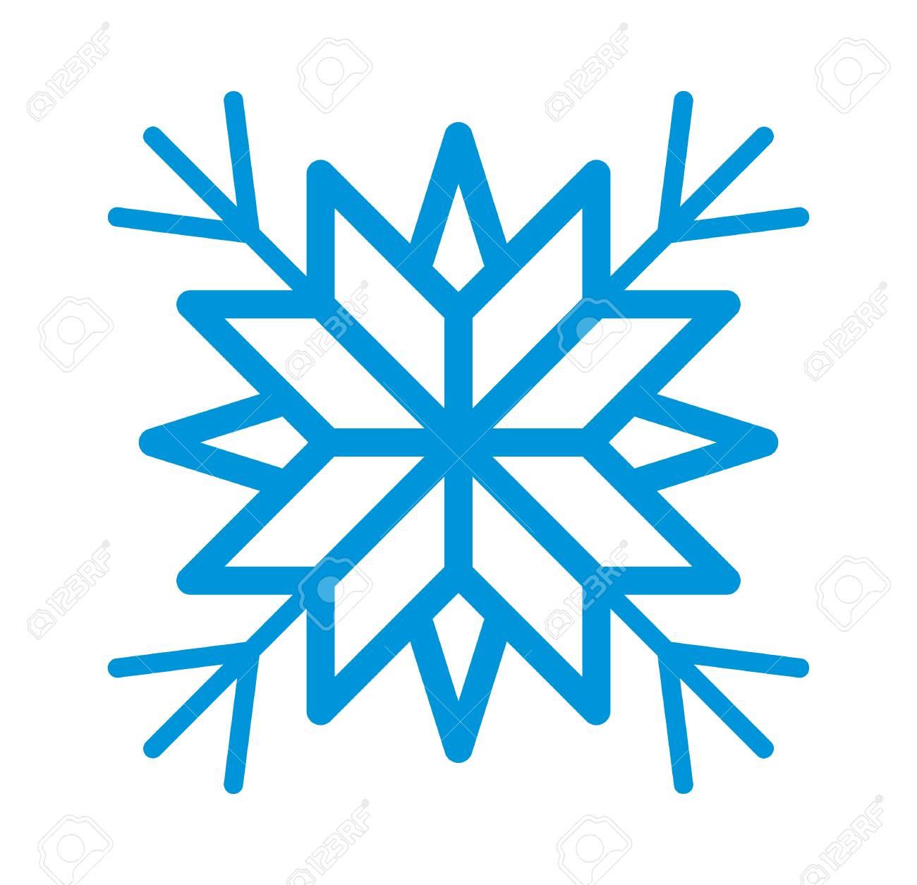 snowflake vector icon royalty free cliparts vectors and stock rh 123rf com snowflake vectors free snowflake vector art