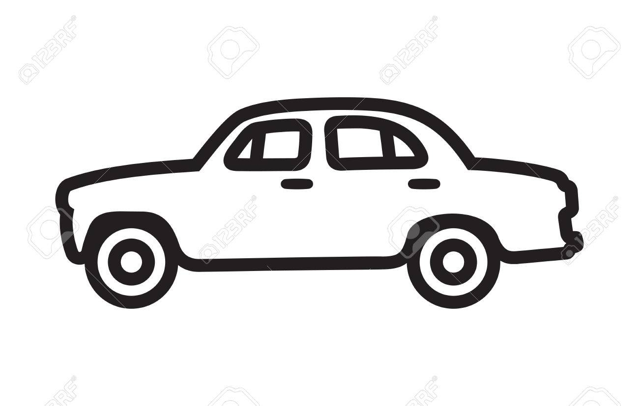 car vector outline icon royalty free cliparts vectors and stock rh 123rf com car vector graphics car vector art free