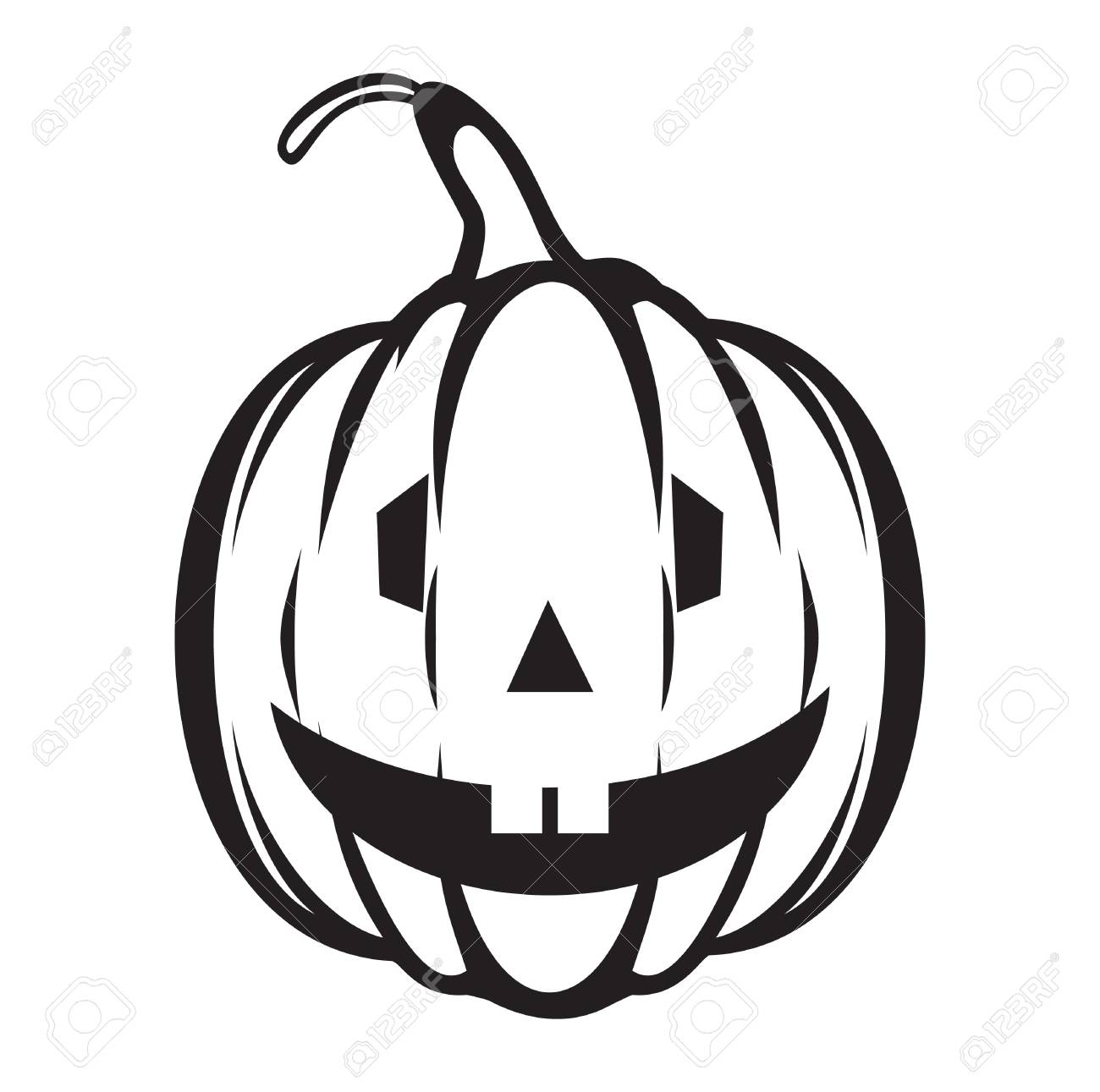 halloween pumpkin vector icon royalty free cliparts vectors and rh 123rf com Pumpkin Silhouette Vector Pumpkin Vine Vector