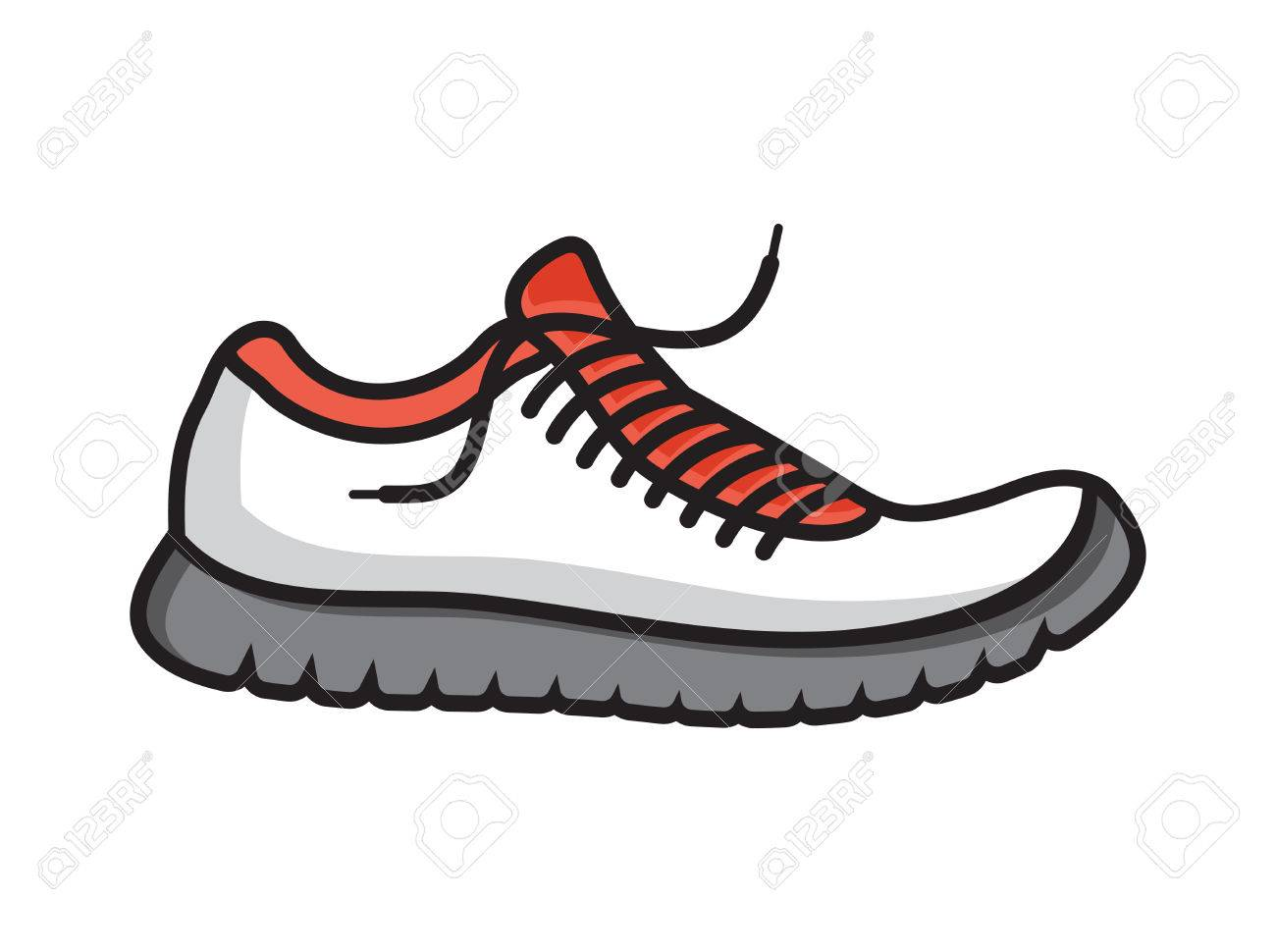 Vector Free ClipartsVectorsAnd Shoes Running Stock Icon Royalty trxhdCQs