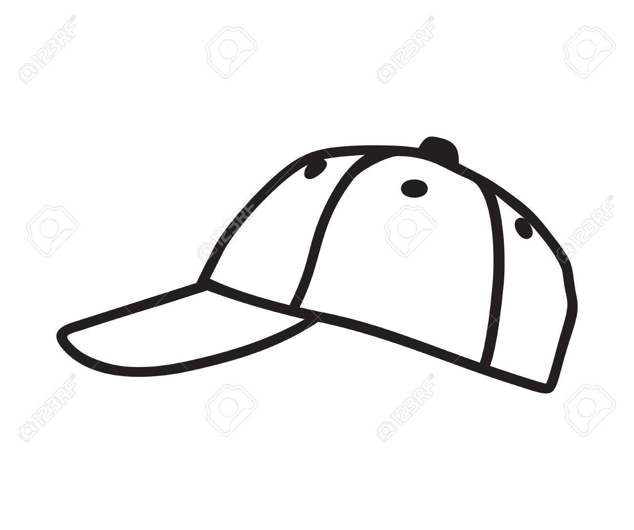 baseball cap vector royalty free cliparts vectors and stock rh 123rf com baseball hat vector image baseball hat vector template