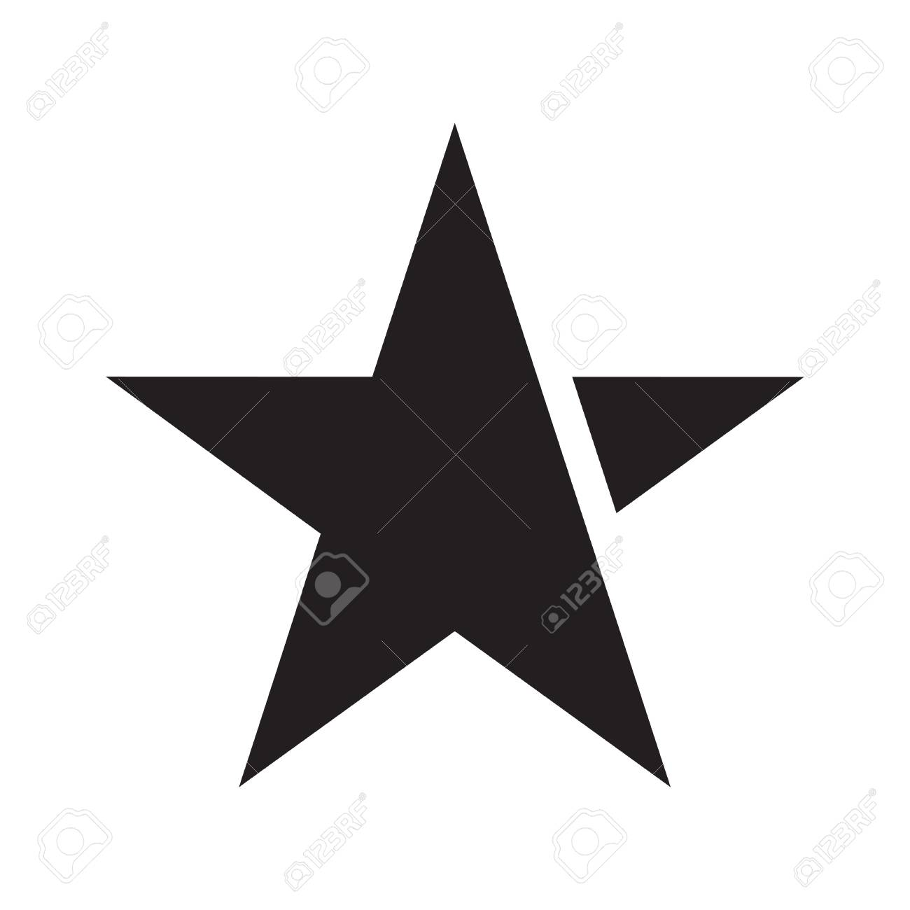 star vector icon royalty free cliparts vectors and stock rh 123rf com star vector file star vector free download