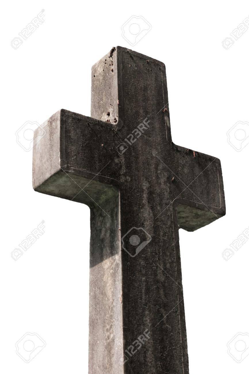 religious cross against white background Stock Photo - 7017470