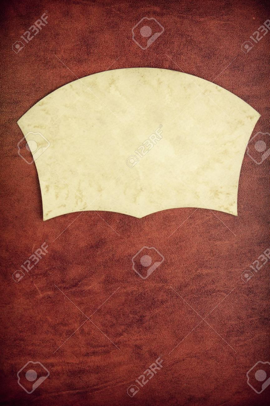 Jahrgang Strukturierten Hintergrund Mit Papier Rahmen Für ...