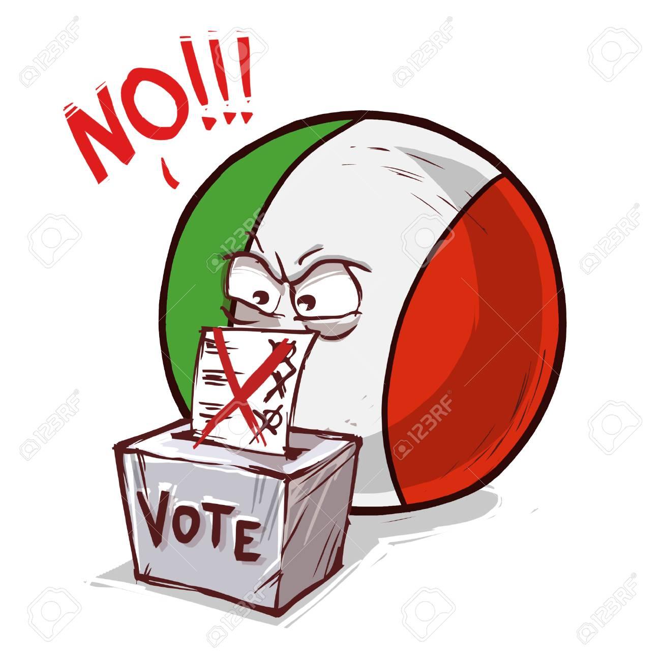 italy voting no - 105913377