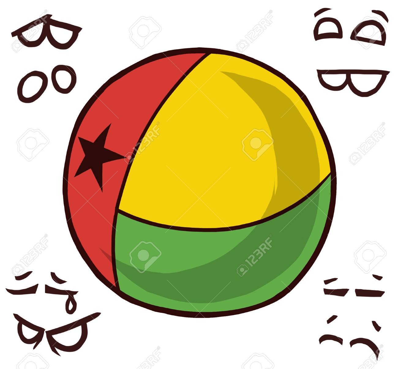 Guinea country ball - 110447505