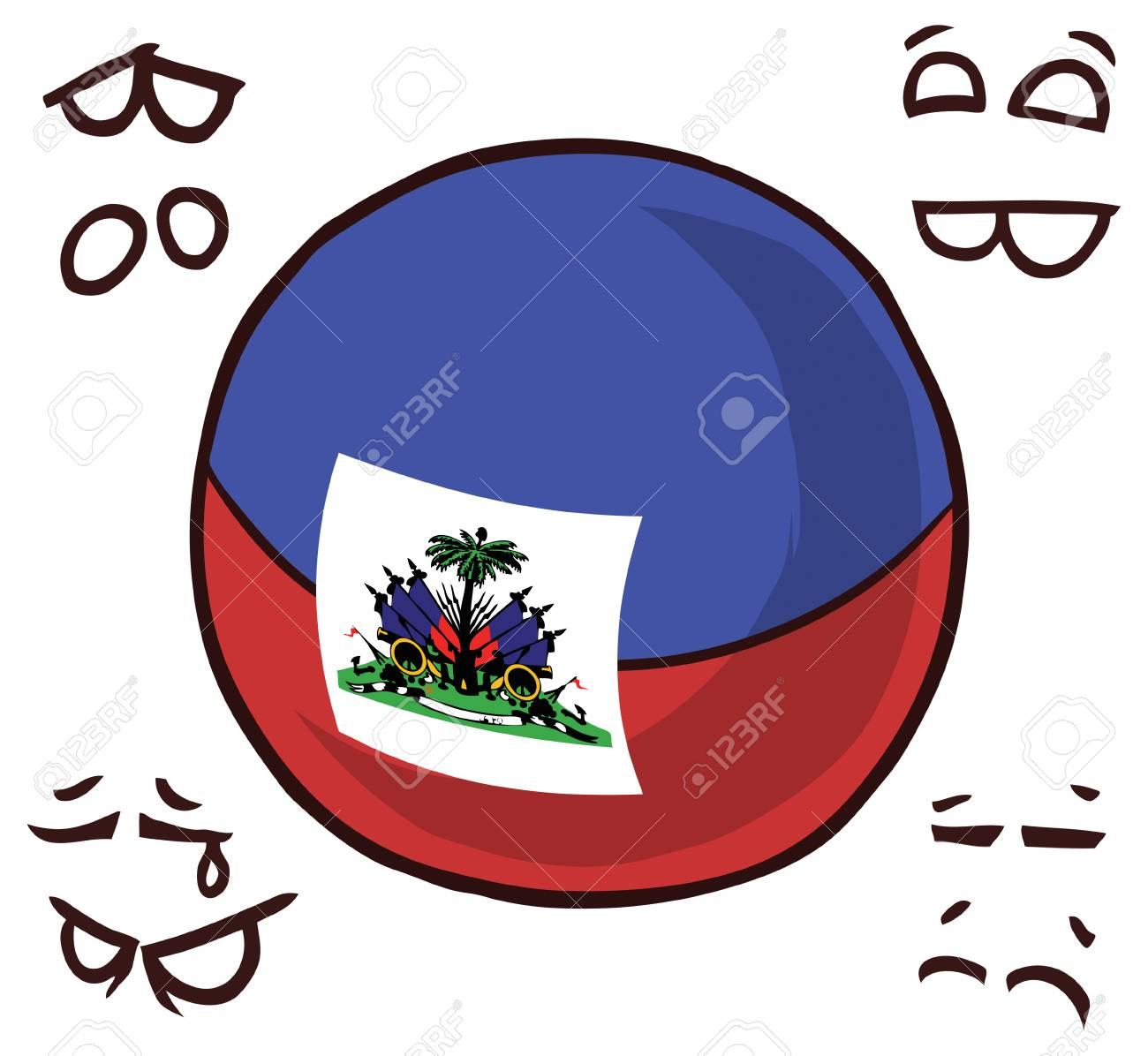 Haiti country ball - 110447507